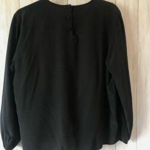 Christian Dior 100% Silk Black Shirt